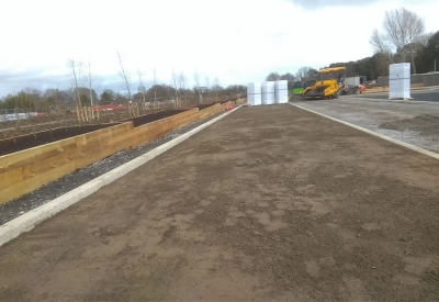 Geogrid Permeable Paving | Fingla Co. Council